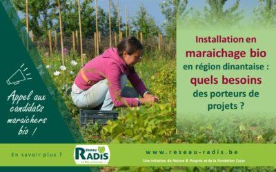 Installation en maraichage bio en région dinantaise : quels besoins des porteurs de projets ?