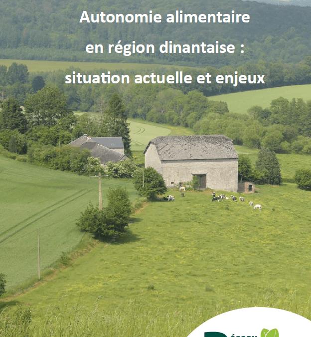 Publication : Autonomie alimentaire en région dinantaise, situation actuelle et enjeux