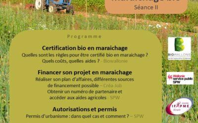20/10 – Préparer son projet en maraichage bio (II) : Invitation